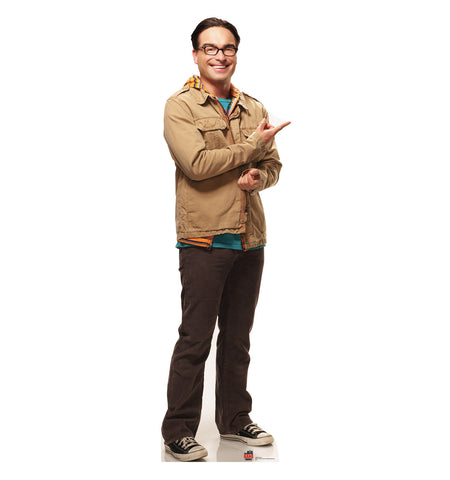 Big Bang Theory Leonard Cardboard Standup