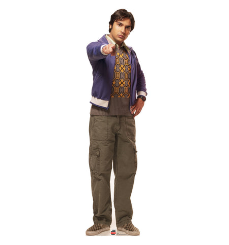Big Bang Theory Raj Cardboard Standup