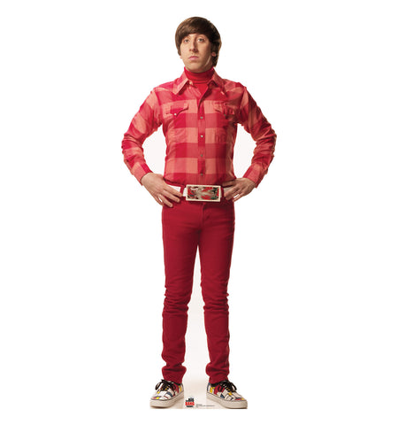 Big Bang Theory Howard Cardboard Standup