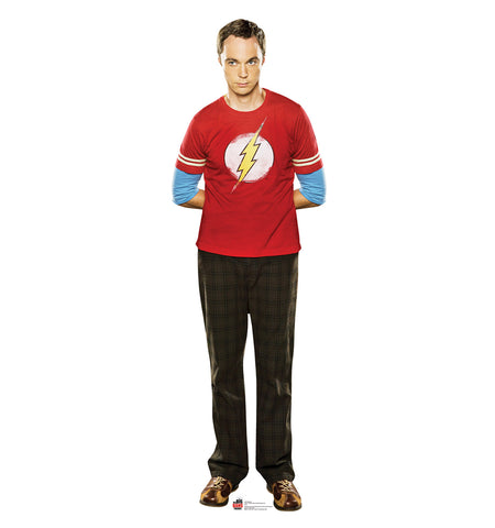 Big Bang Theory Sheldon Cardboard Standup