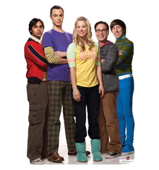 Big Bang Theory Group Cardboard Standup