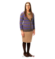 Amy Big Bang Theory Cardboard Standup