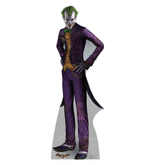 Batman Arkham Asylum The Joker Cardboard Standup