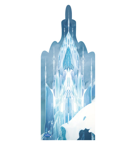 Frozen Ice Castle Cardboard Standup