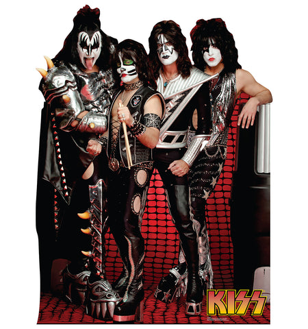 KISS Group Cardboard Standup
