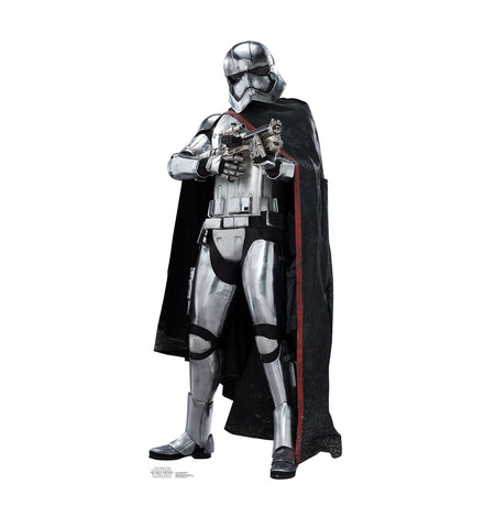 Captain Phasma Star Wars Force Awakens Cardboard Standup