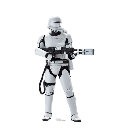Flame Trooper Star Wars Force Awakens Cardboard Standup