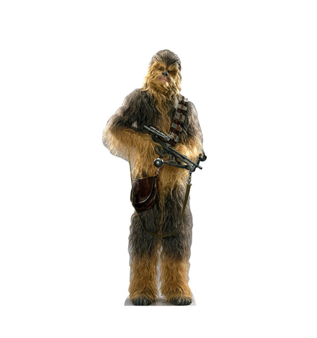 Chewbacca Star Wars Force Awakens Cardboard Standup