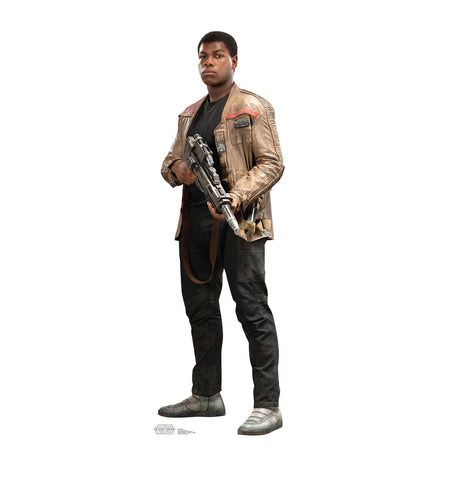 Finn Star Wars Force Awakens Cardboard Standup