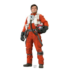 Poe Dameron Star Wars Force Awakens Cardboard Standup
