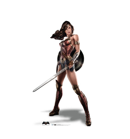 Batman V Superman Wonder Woman Cardboard Standup