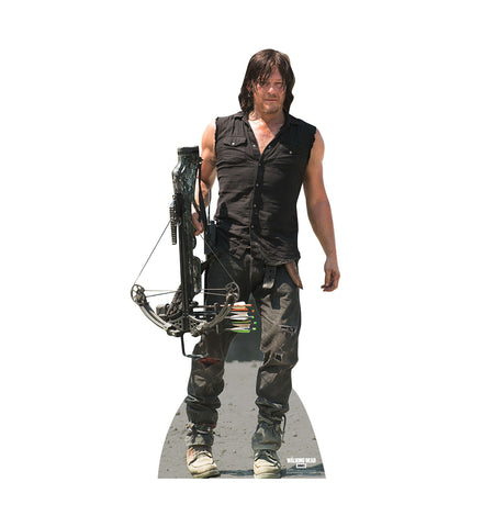Walking Dead Daryl Dixon Crossbow Cardboard Standup