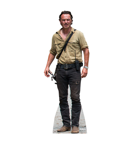 Walking Dead Survivor Rick Grimes Cardboard Standup