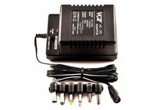 VX 79NP -110V to 240V AC/ DC Adapter With 1.5, 3, 4.5, 6, 7.5, 9 & 12V DC Ouput, 1000mA