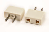 VP 19W - Plug Adapter for Japan and Euro to USA Non-polarized plug