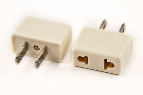 Vp 19w Plug Adapter For Japan And Euro To Usa Non Polarized Plug Voltage Converter Transformers