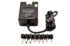 VM-1898DF Switching 100/240V AC Input to 3/4.5/6/7.5V,9V/12V DC Output, 2.5 Amp