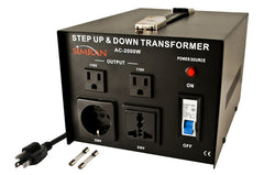 AC-2000 Watts Step Up / Down Voltage Transformer
