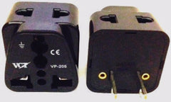 Two Outlet Universal Plug Adapter for USA / Canada