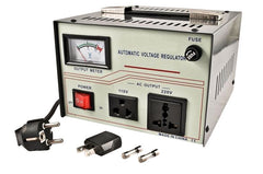 500 Watts Dual Voltage Transformer Plus Automatic Voltage Stabilizer
