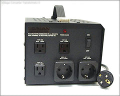 1800 Watts Step Up / Down Transformer With German/Euro Plug