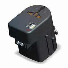 All-in-One Travel Plug Adapter with USB Connector - UP450