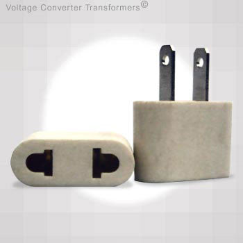VP 19W - Plug Adapter for Japan and Euro to USA Non-polarized plug ...
