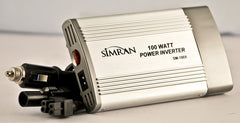 00 Watts DC/AC Power Inverter Converts 12V DC Battery Power to 110V