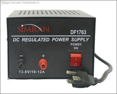 Universal AC to DC Converter Output: 13.8V DC Max 10 Amps