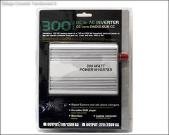 300 Watts Power Inverters 12V DC to 110/120V AC
