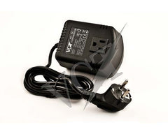 100 Watt Step Down Voltage Converter with Euro Plug