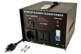 Simran AC-1500 Step Up/Down Voltage Transformer 1500 Watts - CE CERTIFIED