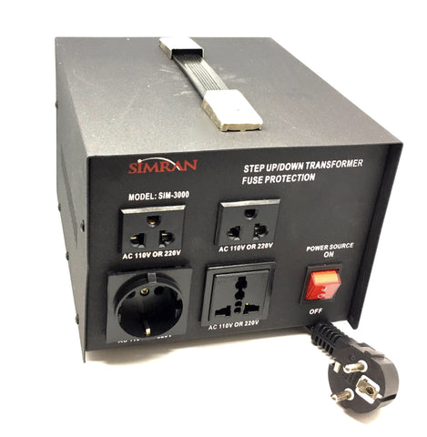 Philmore ST3000 3000 Watts 110 to 220 Volt Step Up//step Down Transformer for sale online