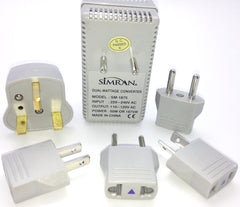 VM-1875K International Travel Converter/Adapter Kit 50W-1875W For 220/240V Countries