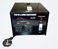 ST-1500 Step Up and Step Down Voltage Transformer for Conversion Between 110 Volt and 220 Volt, 1500 Watt