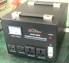 SVR-5000 Automatic Voltage Regulator with Built-in 110v-240v Up Down Voltage Transformer - 5000 WATT
