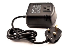 VM-100UK Step Down Travel Converter With UK Plug - 100 Watts
