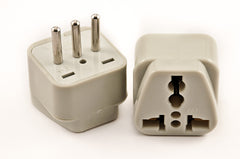 Grounded Plug Adapter for Italy