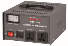 Simran VSR-1500 Deluxe Voltage Regulator with 110V -240V Voltage Transformer Converter,  1500W