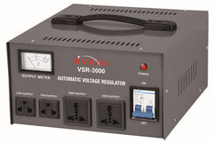 3000 Watt 110V / 220V Voltage Regulator with Built-in Power Converter
