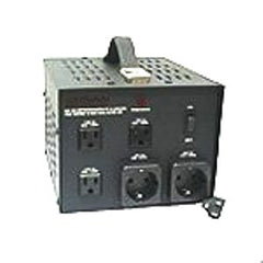 VT-2300F  Step Up/Down Transformer with American Grounded Plug 2300 Watts