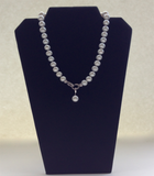 Fresh Water Pearl & Crystal Necklace