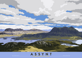 Assynt: Suilven & Cul Mor – giclée print - natural - Indy Prints by Stewart Bremner