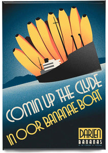 Bananae boats – magnet - Indy Prints by Stewart Bremner