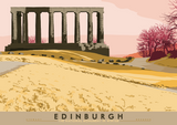 Edinburgh: National Monument – giclée print