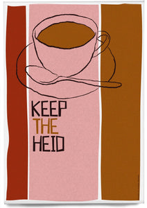 Keep the heid – magnet - Indy Prints by Stewart Bremner