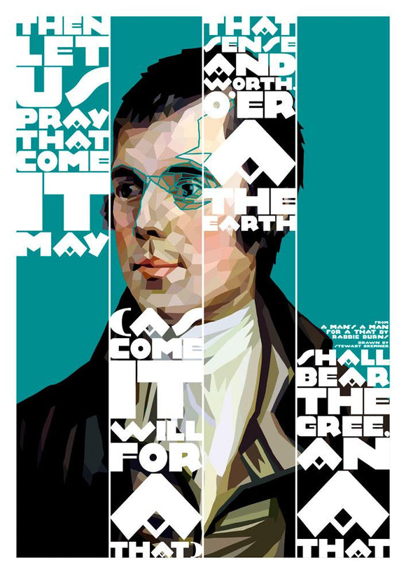 For a that – poster - Indy Prints by Stewart Bremner