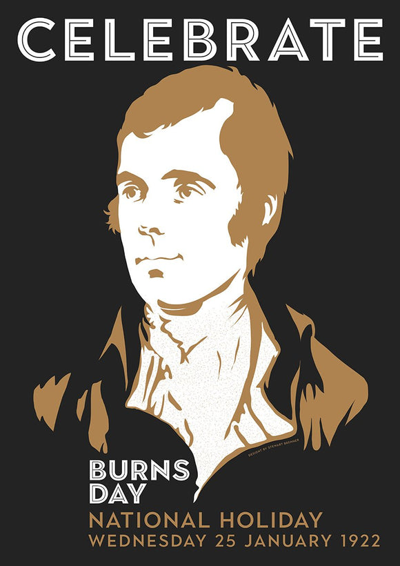 Burns Day – giclée print - Indy Prints by Stewart Bremner