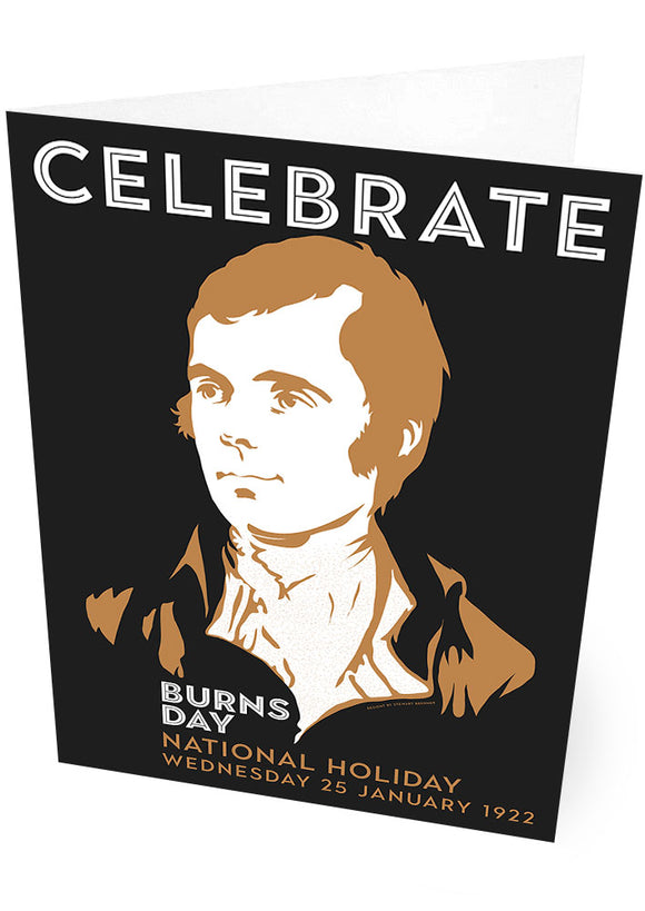 Burns Day – card - Indy Prints by Stewart Bremner