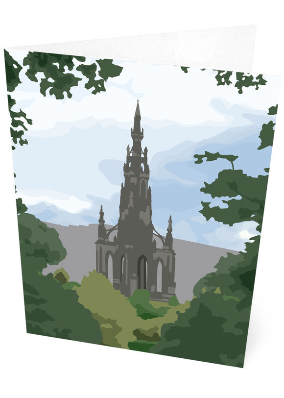 Scott Monument  – card
